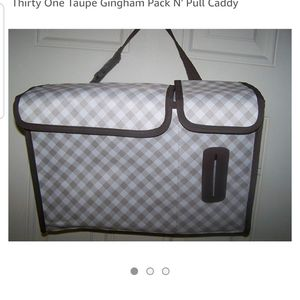 thirty-one Bags - Thirty One Pack and Pull Caddy, New